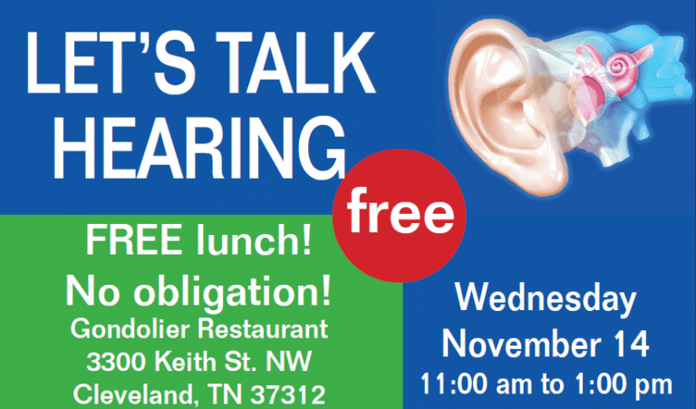 Special Event Ahlberg Audiology Cleveland TN