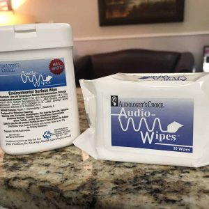 Audio Wipes Ahlberg Audiology & Hearing Aids Services