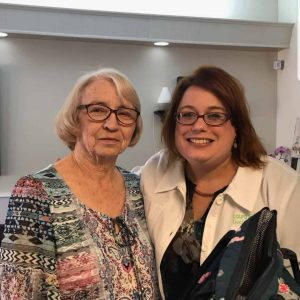 Dr. Laura Ford and Kathleen DeFriese, August 2019