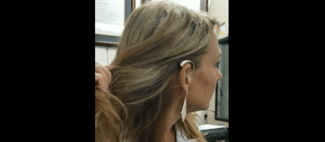 Placing Hearing Aids In the Ear